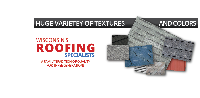 Huge varietey of textures and colors. Wisconsin's Metal Roof Specialists: A family tradition of quality for three generations.